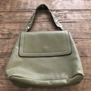 French Connection Olive Green Shoulder Bag Purse